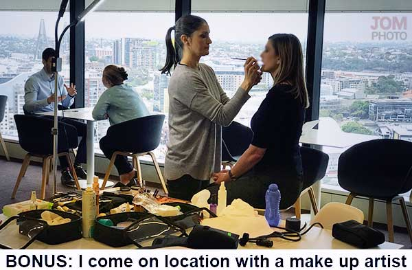 BONUS: I-come-on-location-with-a-make-up-artist
